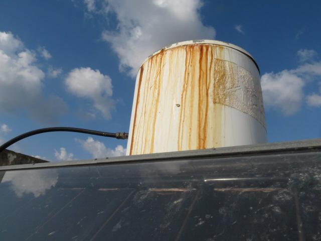 Repair of solar water heater
